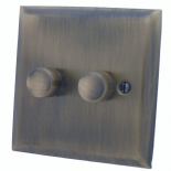 Spectrum Antique Bronze Dimmer Switches